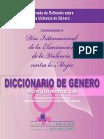 Diccionario de Género