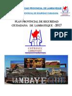 PlanProvincialdeSeguridadCiudadanaLambayequeAno2017