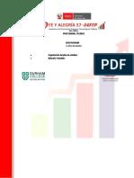CEFOP Perú-Fe y Alegría Plan Estudios Gastronomía