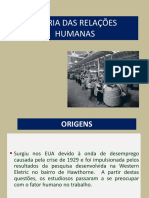 4 Teoria Das Relações Humanas 2014.2 (1)