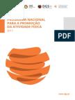 plano nacional para a promoção da atividade física