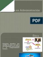 Ética en Administración