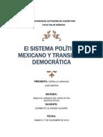 Transición Democrática en México