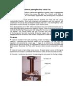 Technical Principles of a Tesla Coil