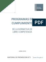 Programas de Cumplimiento FNE