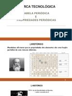 Quitec - Aula 3 - Química Tecnológica - Tabela Periódica