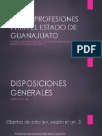Ley de Profesiones Para El Estado de Guanajuato - Final