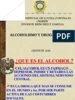ALCOHOLISMO DROGADICCION