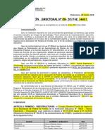 RESOLUCION DIRECTORAL DE CONEI