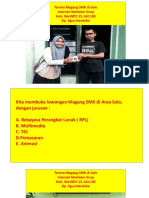 Wa 085725142100 Info Magang 2018, Magang SMK di Solo Kota Surakarta Jawa Tengah