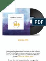 ELEplaylist - El Rincón Del Profesor de ELE
