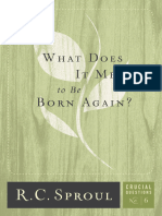 What Does It Mean to Be Born Again
