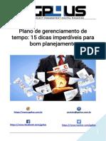 Plano de gerenciamento de tempo 15 dicas imperdíveis para bom planejamento.pdf