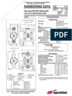ARO PD15P XXS PE15P XXS 1 5 Inch Non Metallic Diaphragm Pumps Datasheet