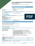 Sanytol Desinfectante Multiusos