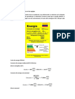 Ahorro Energetico Actividad 3