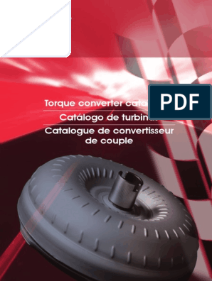 KOM-Torque-Converter-Catalogue-For-Web pdf | Transmission