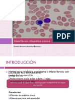 Mielofibrosis Idiopatica Cronica Daniela Montalvo