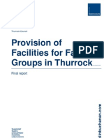 Thurrock faith groups infrastructure needs