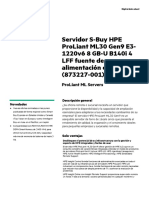 HPE ProLiant ML30 (Gen9)