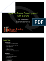 Agile Software Development Scrum