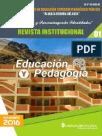 Revista Pedagogica Del Iespp Aib