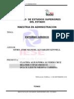 ENTORNO JURIDICO