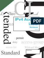 IPv4 Access Lists Workbook