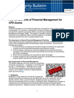 Financial Management Integrity Bulletin CPD