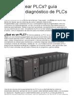 ¿Cómo Testear PLCs_ Guía Básica de Diagnóstico de PLCs