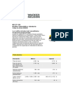 Eq Compactacion Rodillos Wacker RD27-120