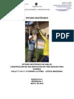 01 Informe Geotécnico Categoria Baja