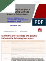 UMTS Paging