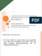 Laporan Pratikum Lapangan Produksi Air Bersih Pdam Ulu