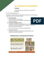 La Agricultura y El Trabajo en El Tahuantinsuyo