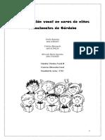Proyecto de investigación Clasificación Vocal