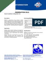 k Refrigeration Oils Reniso