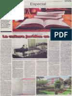 La cultura jurídica en Arequipa, Mario Rommel Arce Espinoza