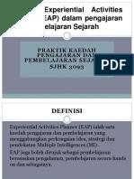 Kaedah Experiential Activities Planner (EAP) Dalam