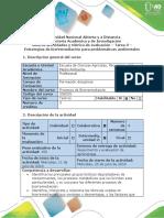 Guia de Actividades y Rubrica de Evaluacion - Tarea 3 - Estrategias de Biorremediacion Para Problematicas Ambientales