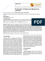 Improving Biogas Production of Sugarcane Bagasse by Hydrothermal Pretreatment -Penting