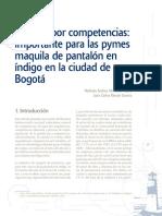 Implementación del modelo de gestión por competencias