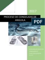 Proceso de Congelado de Anguila