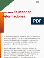 Circulo de Mohr en Deformaciones