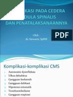 Komplikasi Pada Cedera Medula Spinalis