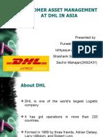 SVM .DHL Case Study . Group 8 Presentation