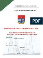 Diseño de una red de electrificación pública