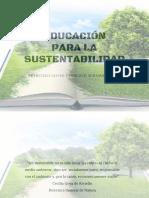 Presentación Educación Para La Sustentabilidad