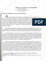 Delincuencia o Malones, La Justicia No Comprendida - Luis Parentini