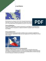 Teorya Ng Pinagmulan Ng Pilipinas
